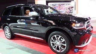 2018 Dodge Durango Citadel - Exterior and Interior Walkaround - 2018 New York Auto Show
