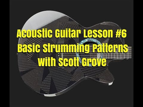 Acoustic Guitar Lesson 6 Basic Fingerpicking Patterns With Scott Grove