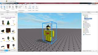 Tutortial: How To Make A Model Of Yourself In {Roblox Studios}