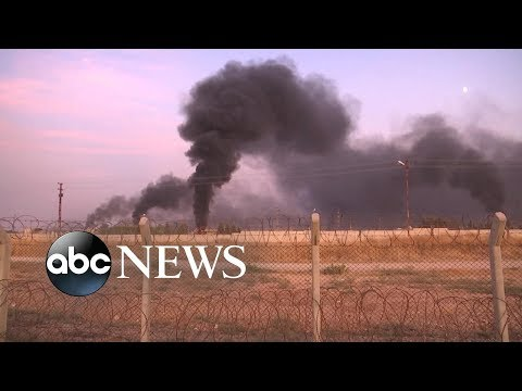 War in northern Syria breaks out as Turkey attacks Kurdish sites | ABC News