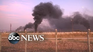 War in northern Syria breaks out as Turkey attacks Kurdish sites ABC News