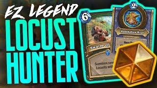 EZ Legend with Locust Hunter   72% Winrate   Saviors of Uldum   Hearthstone