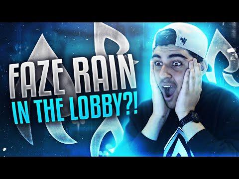 FAZE RAIN IN THE LOBBY!?
