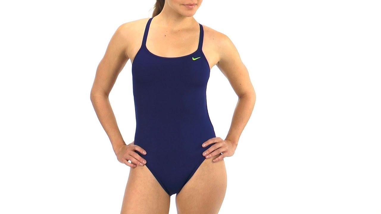 d14e0055bd0 SwimOutlet Exclusive Nike Swim Solid Poly Spiderback