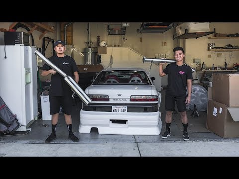 NEW Exhaust for the S13!