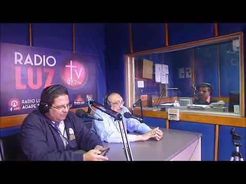 Entrevista parcial en Radio Luz, San Salvador C.A.