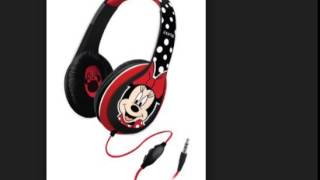 eKids Minnie Mouse Over the Ear Headphones with Volume Control, by iHome   DM M403