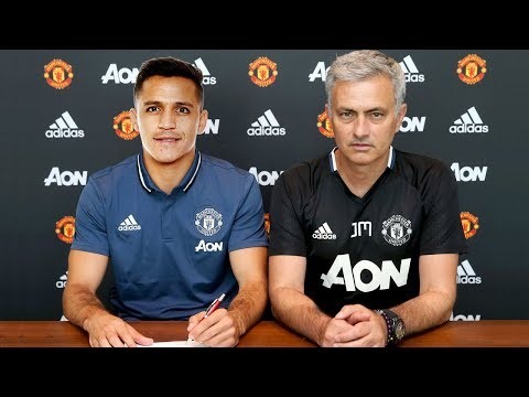 ALEXIS SANCHEZ FINALLY JOINS MANCHESTER UNITED!! HUGE CONFIRMED TRANSFERS