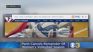 Penn Cancels Remainder Of Women's Volleyball Season After Vulgar, Offensive Posters Found In Locker
