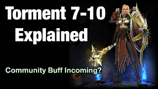 "Diablo 3 - Torment 7-10 Differences / Explained ""Patch 2.4"""
