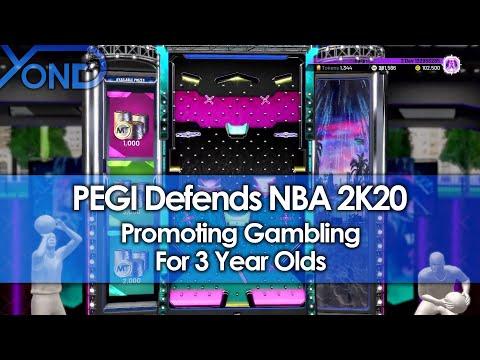 PEGI Defends NBA 2K20 Promoting Gambling For 3 Year Olds thumbnail