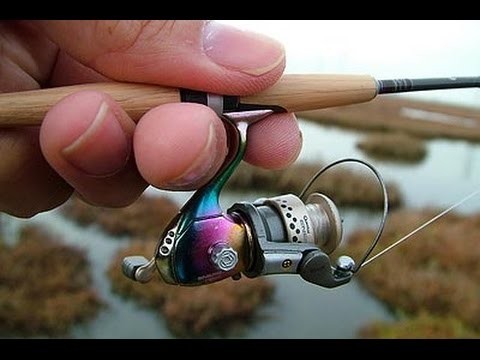 Catching big fish on small rod compilation youtube for Micro fishing pole