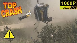 Top 10 of the most spectacular rally crashes in recent years