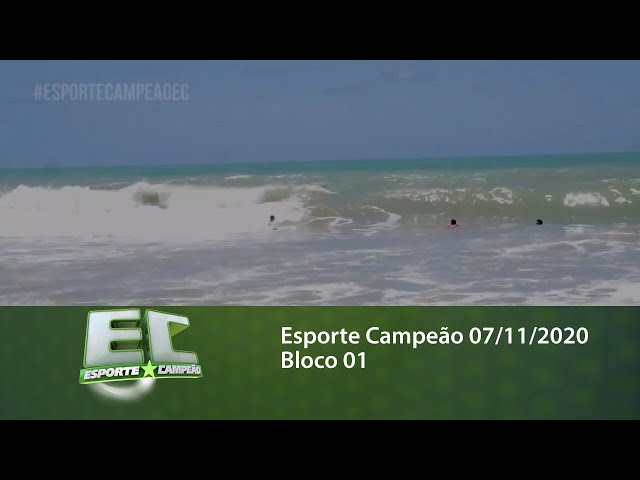 Esporte Campeão 07/11/2020 - Bloco 01