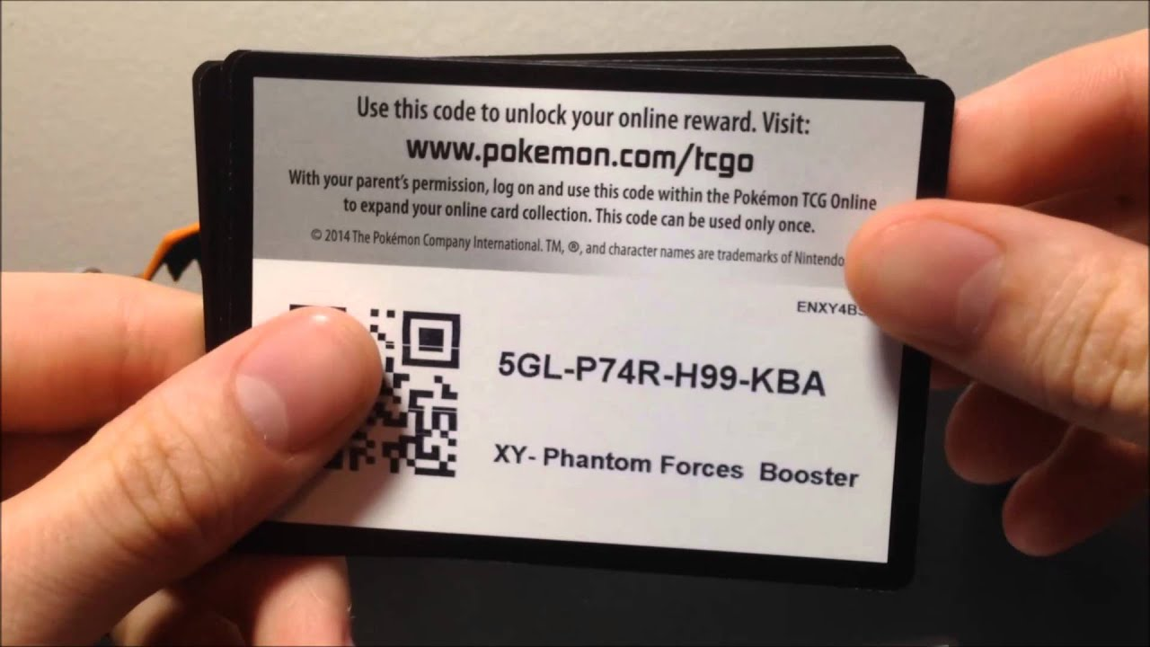 Quickly redeem the codes into your Pokemon TCGO Game by scanning the QR code or Copy/Paste the code text; Items added to your cart are reserved for you for 10 minutes. You have 10 minutes to PAY before the items are removed from your shopping cart and available for someone else to purchase.