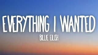 Gambar cover Billie Eilish - everything i wanted (Lyrics)