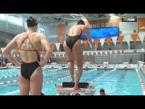University of Tennessee Swimming and Diving Orange & White Intrasquad Meet
