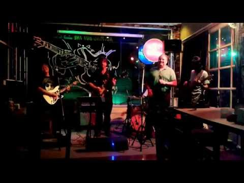 "Jam Session at ""Nothing but the blues Club"" in Bangkok (Thailand)"