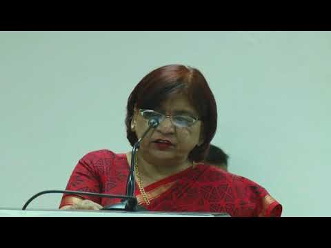 Prof. (Dr.) Poonam Saxena, Vice Chancellor, NLU Jodhpur at Lloyd Law College