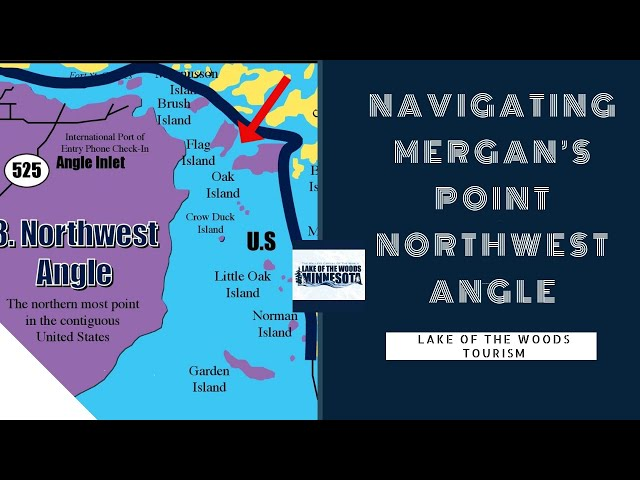 Navigating Mergan's Point in the Northwest Angle