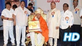 Veteran Producer K Raghava Felicitation (Sanmana Sabha)