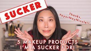 5 Makeup Products I'm a Sucker For! | Collab with YayOrNayNicole