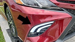 Toyota Camry 2018 SE/XSE - Oled Tube Fog Lights Upgrade - Installation Tutorial!