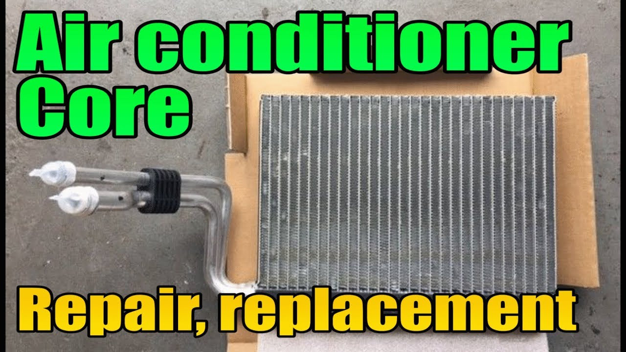 Car Air Conditioner Evaporator Replacement Refrigerant Refilling