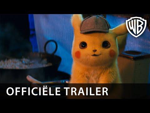 POKÉMON Detective Pikachu   Officiële Trailer 1 NL   8 mei in de bioscoop