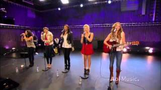 The Saturdays - Ego (AOL Sessions - December 2010)