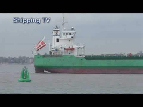 Arklow Brave heads for Harwich, 6 November 2018