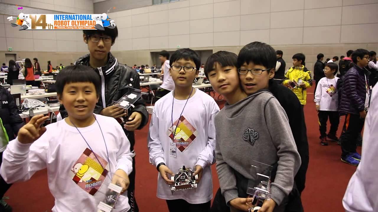 International Robot Olympiad 2012 Gwangju South Korea Youtube