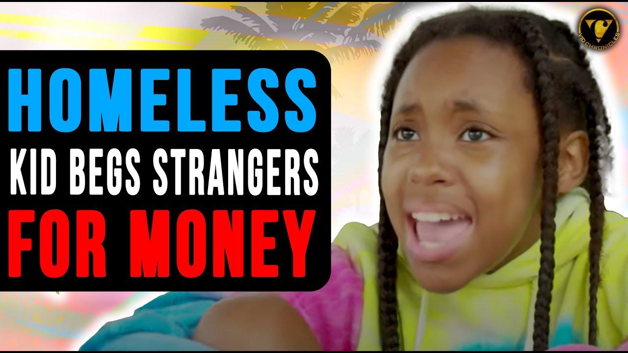 Homeless Kid Begs Strangers For Money, Then This Happens.