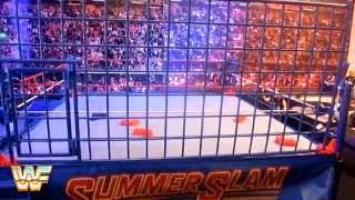 WWE Authentic Scale Ring: Classic Steel Cage Review