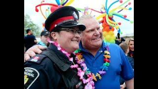 Newmarket Pride Parade: Ford walks with cops