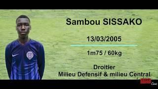 Sambou Sissako ● Powerful, Technique ● Skills ● Highlight ● Ngolo Kante, Paul Pogba, Yaya Touré