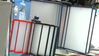видео Напольные перекидные системы