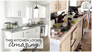 INDUSTRIAL FARMHOUSE MOBILE HOME REMODEL | Before and After | Living Hope Renovations