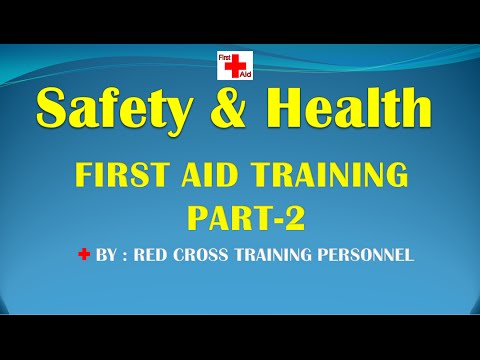 FIRST AID TRAINING PART-2  (LANGUAGE: HINDI, PUNJABI)