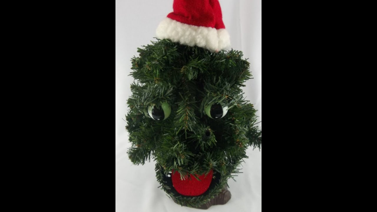 Douglas Fir Animated Talking Singing Dancing Xmas Tree
