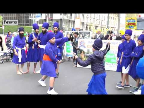 Milan Nagar Kirtan Italy_040416 part - 2  (Media Punjab TV)