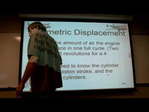 Recepricol Engines ENGINE VOLUMETRIC DISPLACEMENT