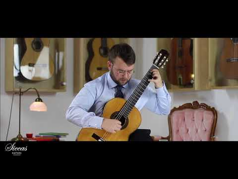 Ferran Talarn plays Sonata II Minuetto by A. José on a 2018 Lorenzo Frignani, Manuel Ramirez Copy