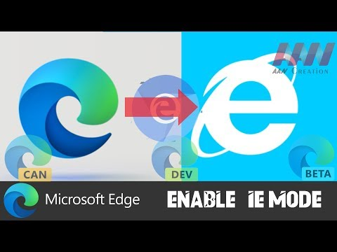 How to Enable IE Mode in Chromium Version of Microsoft Edge
