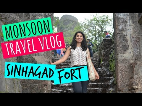 monsoon-travel-vlog:-sinhagad-fort-pune