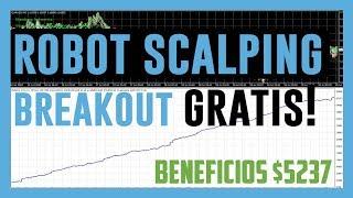 Robot Forex Scalping Gratis Breakout EURUSD ► Te Rompera La Cabeza Entenderlo