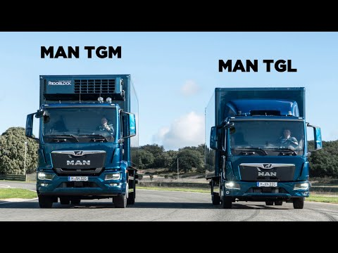 New 2020 MAN TGM / TGL - Interior, Exterior, Drive