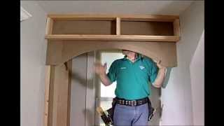 Building Storage Spaces Part 8: Making Decorative Arches