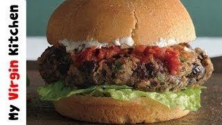 Bean Burgers - Myvirginkitchen