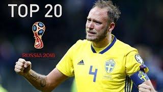 DE 20 BÄSTA SPELARNA I VM 2018